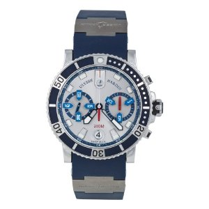 Ulysse Nardin Men's 8003-102-3/91 Maxi Marine Watch